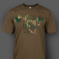 Camo Jeep Grill T-Shirt