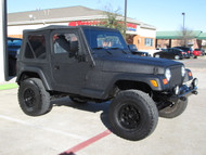 2000 TJ Wrangler Sahara Edition Black Kevlar Lined Stock# 712194