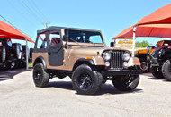 SOLD 1984 Jeep CJ-7 Champagne Stock# 044694