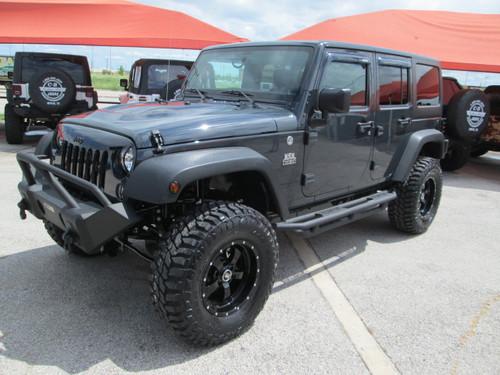 SOLD 2016 Black Mountain Conversions JKU Jeep Wrangler