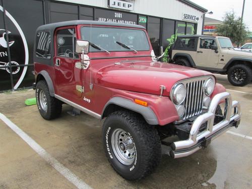 sold 1982 jeep cj 7 stock 043299 collins bros jeep. Black Bedroom Furniture Sets. Home Design Ideas