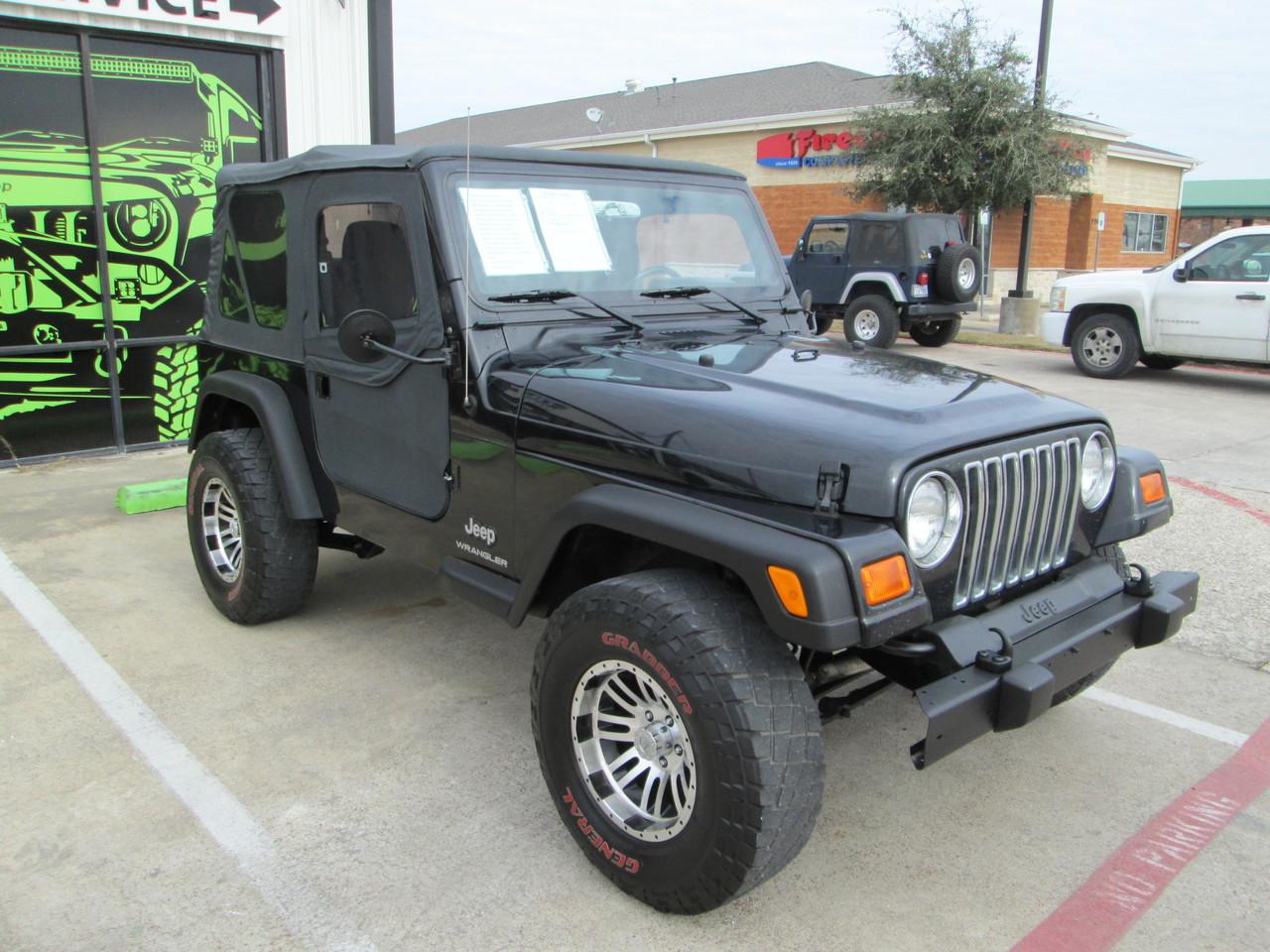 sold 2003 jeep tj wrangler stock 303647 collins bros jeep. Black Bedroom Furniture Sets. Home Design Ideas