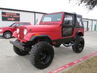 1986 Jeep CJ-7 Red Kevlar Lined Stock# 062893