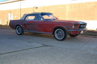 1967 Mustang Convertible T-5 Export model Stock# 272038