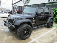 2017 Black Mountain Conversions Unlimited Jeep Wrangler Stock# 562837