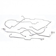 '76-'78 CJ7 Stainless Steel Brake Line Kit (LP, DS)