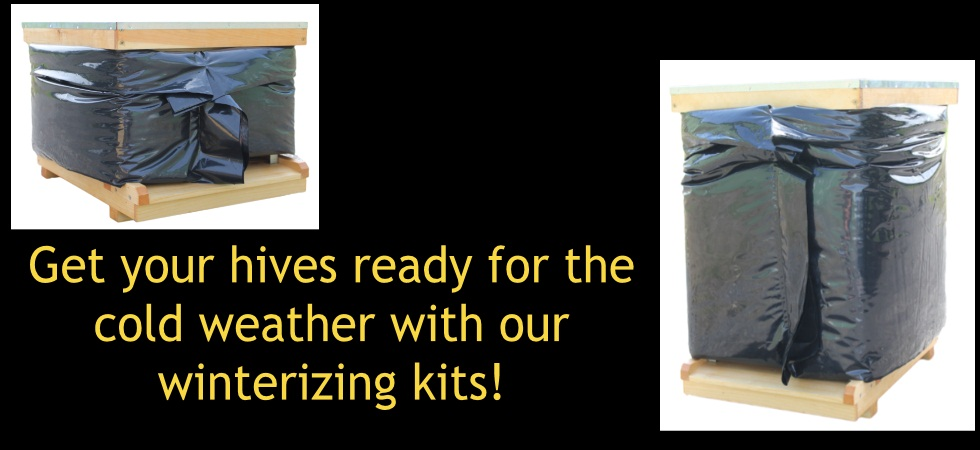 Get your hive ready for winter with our Bee Cozy hive wraps!