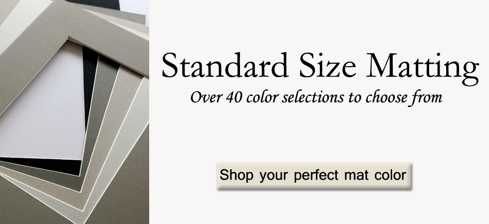 Standard Size Picture Frames Matboard Anysizeframe Com