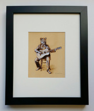 Music About The Mountains - Framed Art Print - 8x10