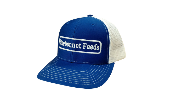 Bluebonnet Feeds Trucker Hat