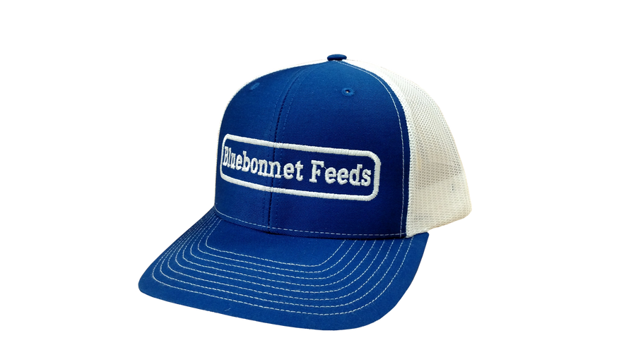Bluebonnet Feeds Trucker Hat
