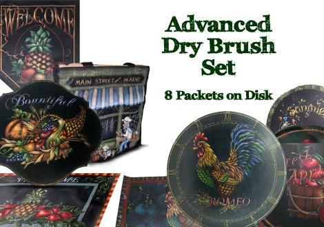 Advanced Dry Brush Collection