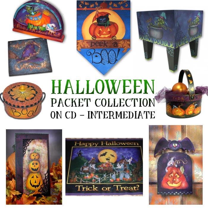 Intermediate Halloween Pattern Collection