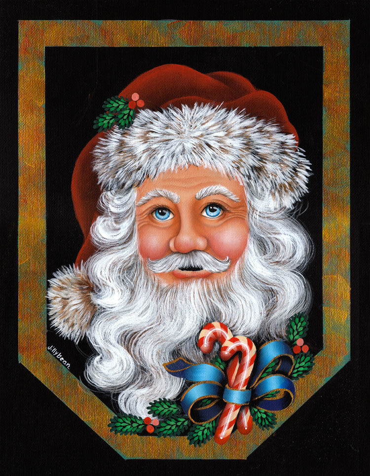 Holiday Santa - E-Packet - Jill Fitzhenry
