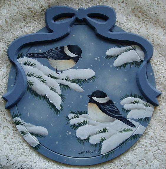 Winter Chickadees E-Packet - Wendy Fahey
