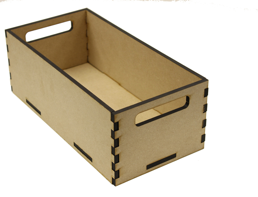 Long Rectangle Tote Box