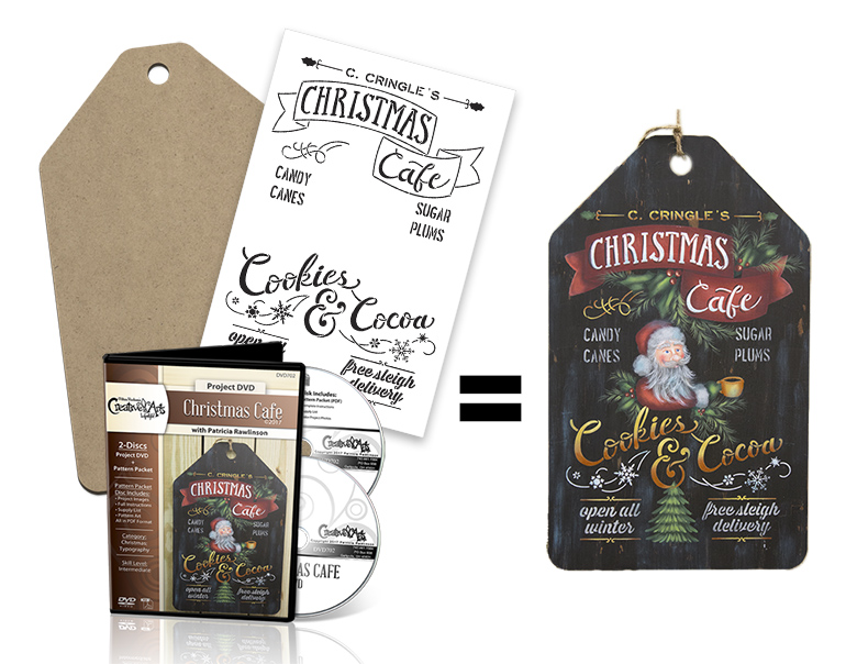 Christmas Cafe Deluxe DVD Set