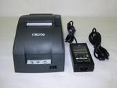 Epson TM-U220B Dark Gray POS Recipt Printer Serial with Autocutter M188B