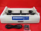 OKIdata OKI 491 Dot Matrix ML491 Printer 62419001 USB No Plastics FREE SHIPPING