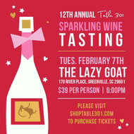 12th Annual Table 301's sparkling tasting