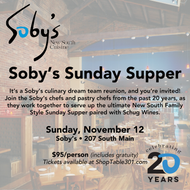 Soby's Sunday Supper