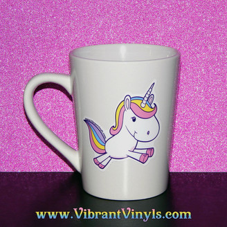Signature Unicorn - Black or White Mug