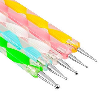 5 Piece Set of Double Ended Dotting Tools