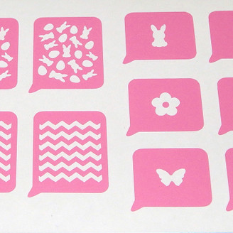 Easter Stencil Variety Sheet