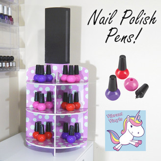 Nail Polish Bottle Ink Pens