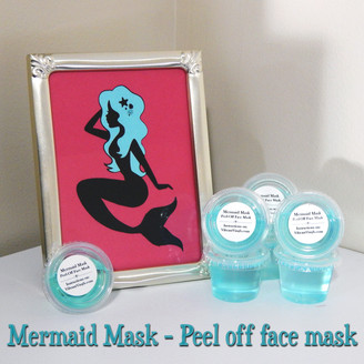 Mermaid Mask - Peel Off Face Mask