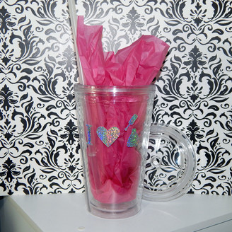 16 oz. Insulated Tumbler - Holographic 'I <3 Nail Polish' or 'Peace Love Polish'