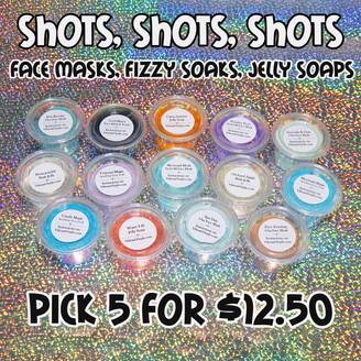 5 Pack - Shots, Shots, Shots