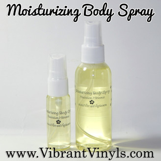 Moisturizing Body Spray
