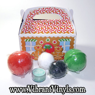 Bath Bomb Holiday Gift Set