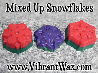 Mixed Up Snowflake Wax Melts