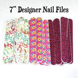 7 Inch Designer Nail Files
