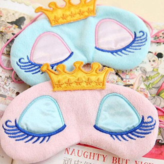 If The Crown Fits Sleeping Mask