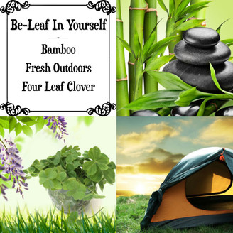 Be-Leaf In Yourself Wax Melts - RTS Clamshell