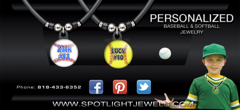 SOFTBALL AND BASEBALL NECKLACES