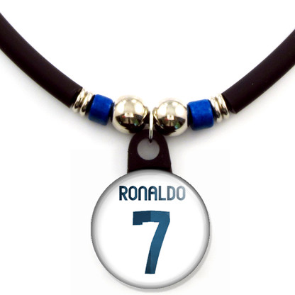 Cristiano Ronaldo #7 Real Madrid 2012-2013 Home Jersey Necklace