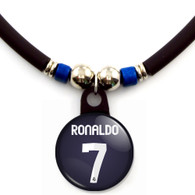 Cristiano Ronaldo #7 Real Madrid 2012-2013 Away Jersey Necklace