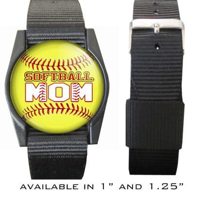 Softball Mom Bracelet/Wristband