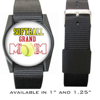 Softball Grand Mom Bracelet/Wristband