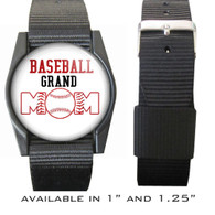 Baseball Grand Mom Bracelet/Wristband