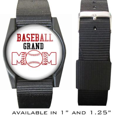 Baseball Grand Mom Bracelet/Wristband