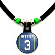 Seattle seahawks football russell wilson jersey #3