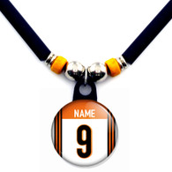 Personalized NFL Cincinnati Bengals Necklace