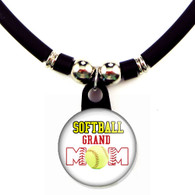 Softball grand mom necklace