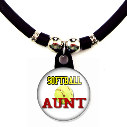 Softball Aunt necklace