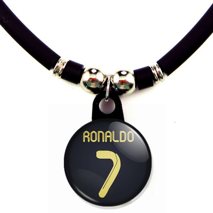 Cristiano Ronaldo #7 Real Madrid 2011-2012 Away Jersey Necklace